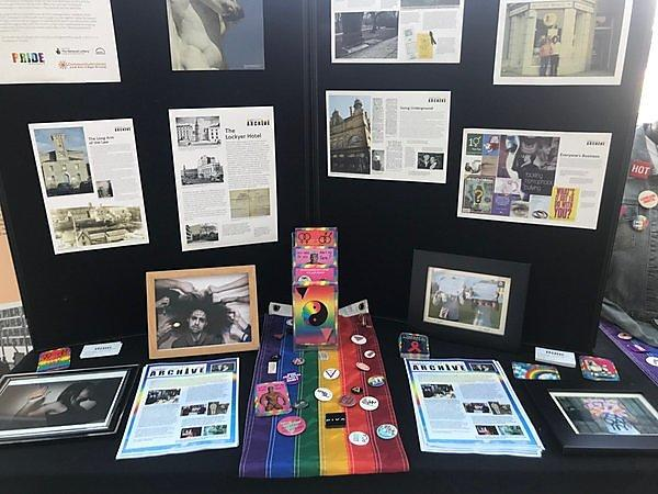 Plymouth LGBT community archive and pop up exhibition