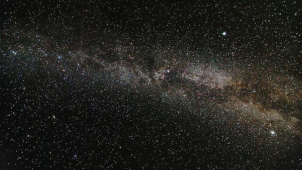 The Milky Way and space