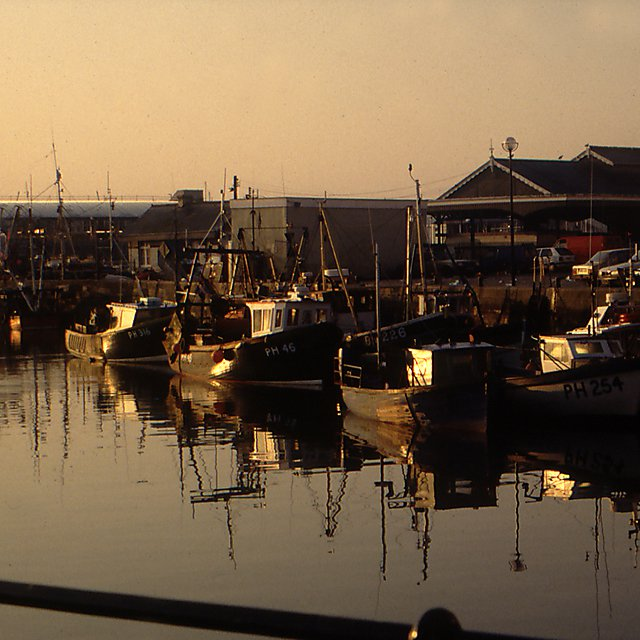 Fishing boats, Barbican