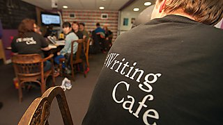 As well as serving great coffee and locally sourced food, the Writing Café is a welcoming space where you can explore techniques and strategies to improve your writing.