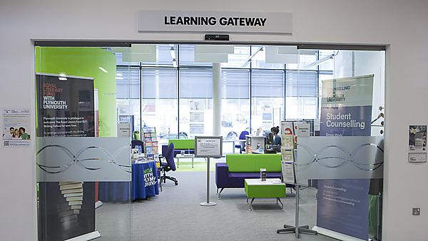 The learning gateway, Roland Levinsky building