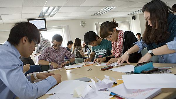 English language pre-sessional students