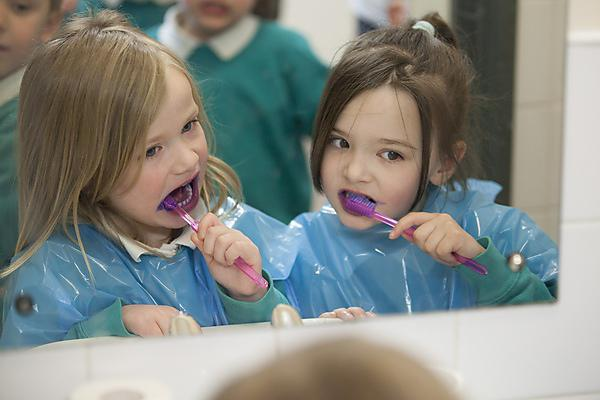 NICE has issued guidelines stating that more children should brush their teeth