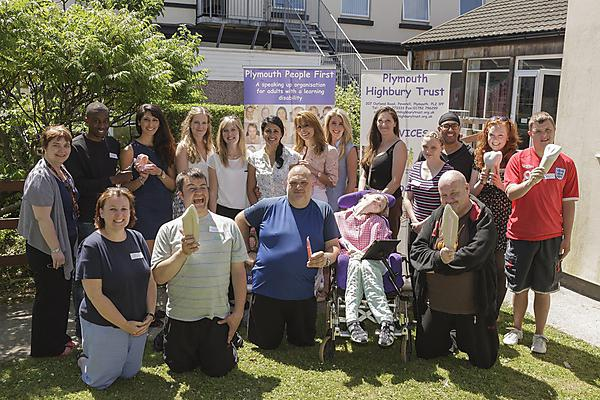 The first dental ambassadors with learning disabilities have passed their training course with flying colours
