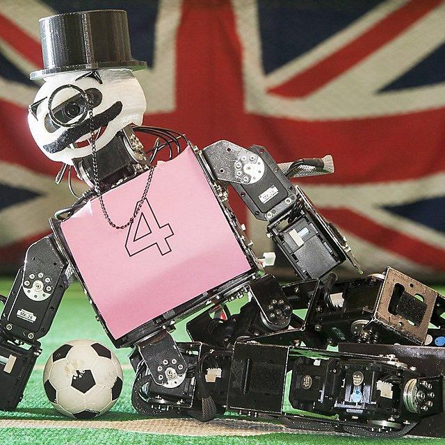 Robot Mustachio