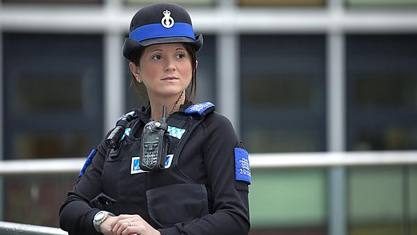 Police Community Support Officer (PCSO) Sarah Pengelly
