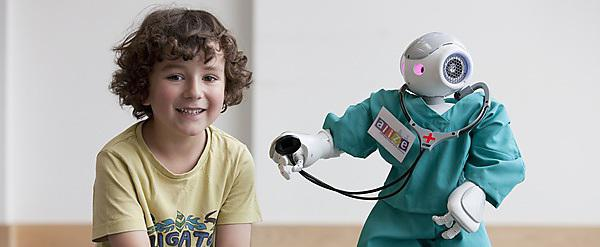 Social robots helping children with diabetes