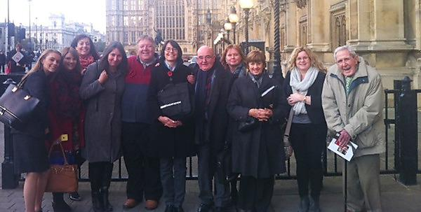 Dementia experts visit House of Lords