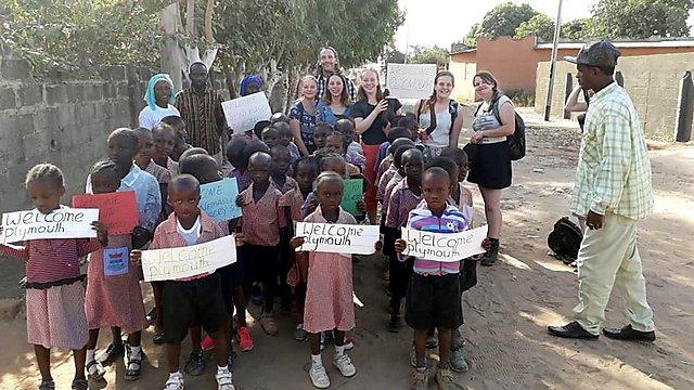 <p>  <b></b>Kayleigh Royle<b></b>&nbsp;- Gambia<b></b><br></p>