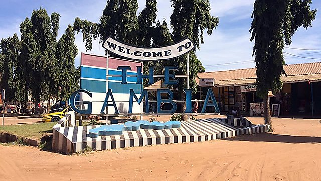 <p>Welcome to the Gambia</p>