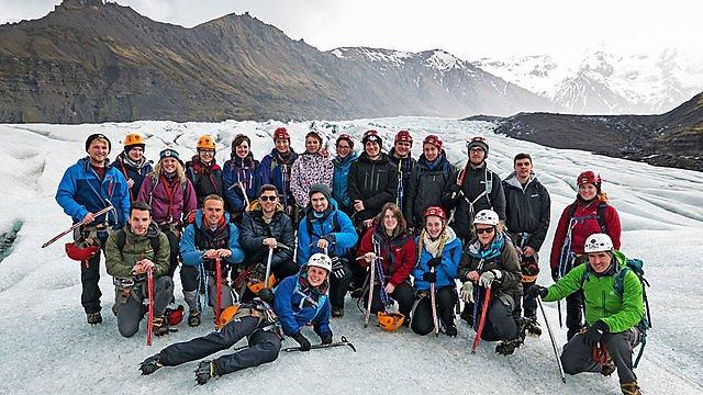 <p>Iceland field trip. Credit Caroline Clason</p>