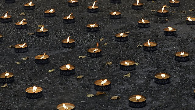 <p>Lights of rememberance.<br></p>
