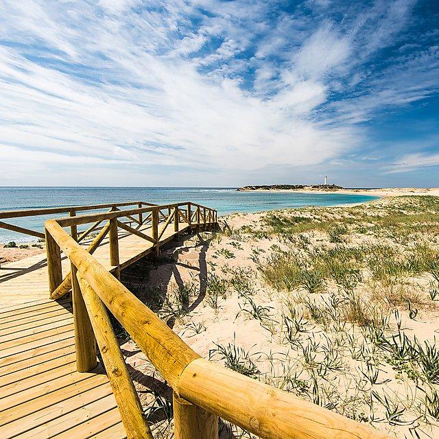<p>Zahara de los Atunes sandy beach and dunes,Spain<br></p>