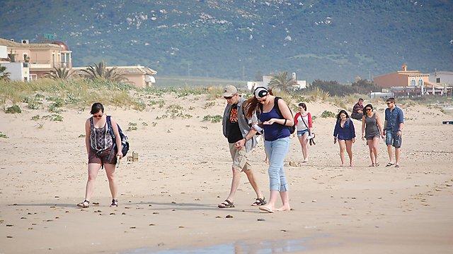 <p>  Students in Zahara, Cadiz, Spain  <br></p>