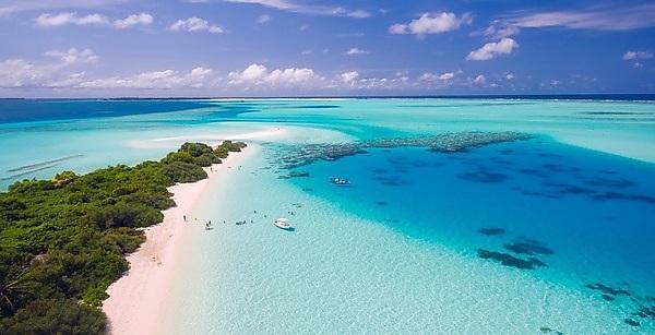 <p>The Maldives</p>