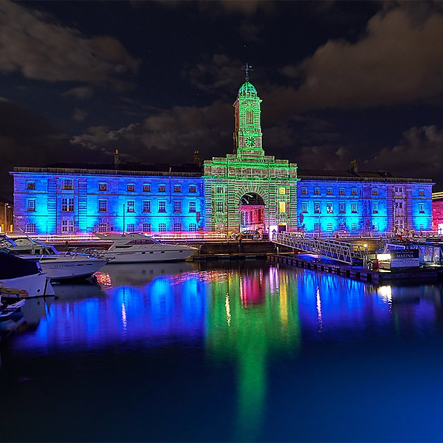 <p>Melville Projections at Illuminate 2018, image courtesy of One Plymouth. Square<br></p>