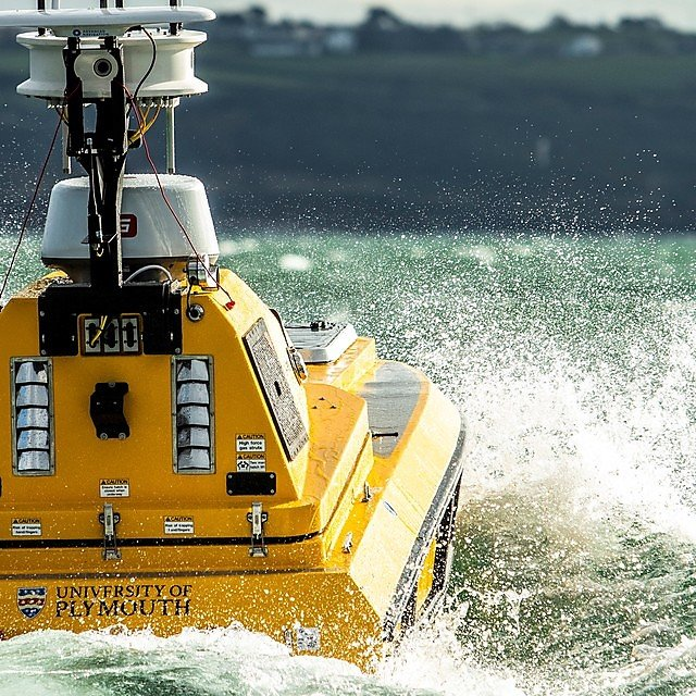 <p>USV CETUS is a C-Worker 4 unmanned surface vehicle developed and supplied by L3Harris Technologies (Credit University of Plymouth)<br></p>