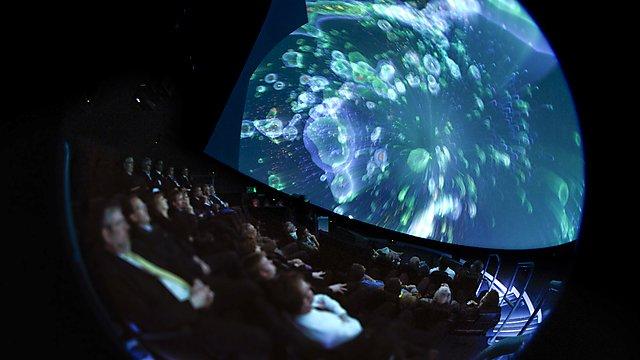 <p>Impact Lab - inside the Immersive Vision Theatre</p>
