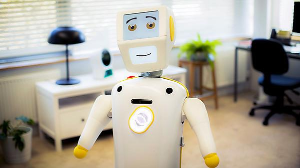 Stevie the 'social' robot