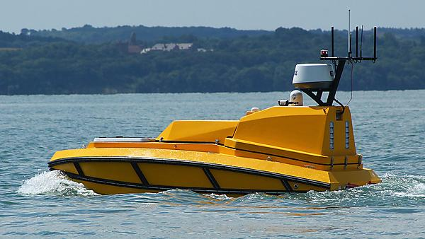 <p>  The C-Worker 4 can travel at speed up to 7 knots and stay at sea for up to 48 hours (Image: L3Harris)  <br></p>