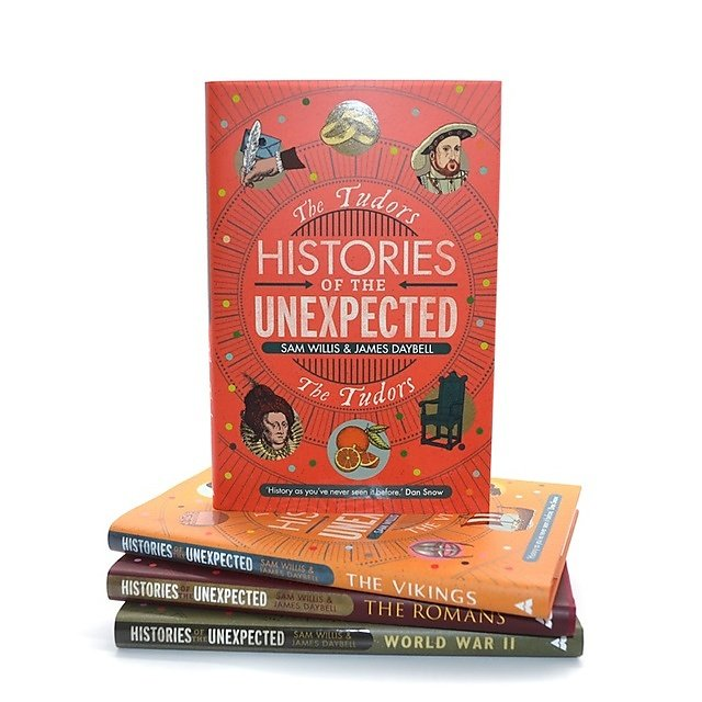 <p>Histories of the Unexpected: The Tudors book cover<br></p>
