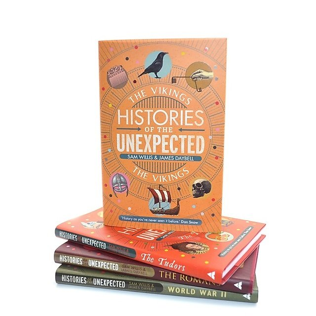 <p>Histories of the Unexpected: The Vikings book cover</p>