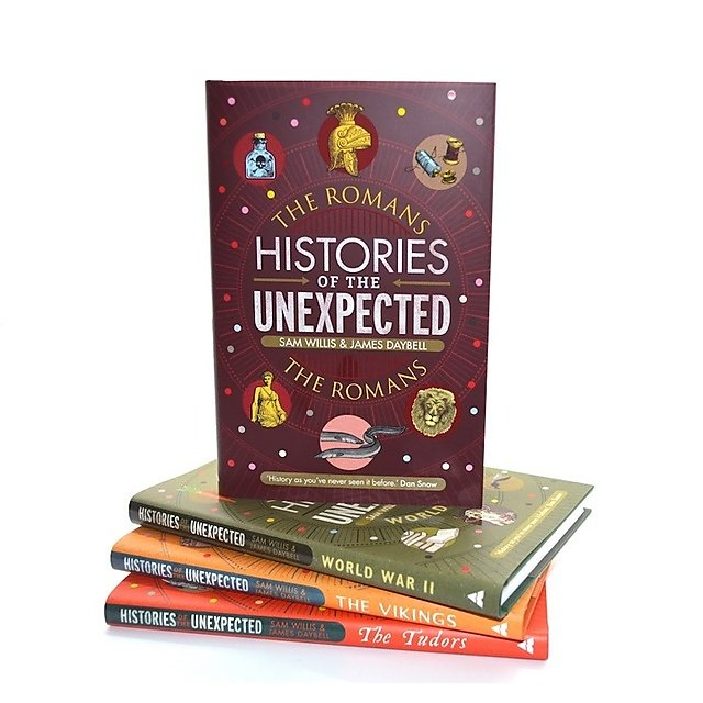 <p>Histories of the Unexpected: The Romans book cover<br></p>