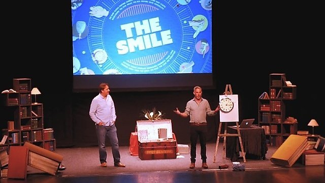 <p>The Histories of the Unexpected team, live on stage: Dr Sam Willis and Professor James Daybell<br></p>