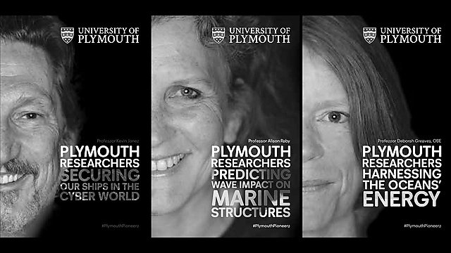 <p>plymouth pioneers black and white</p>