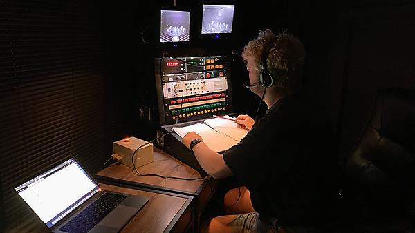 Timothy J Norman, Stage Manager of Drum Show at Theatre Royal Plymouth