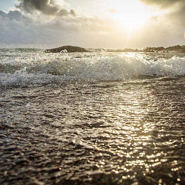 <p>The sea at Wembury</p>