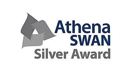 <p>Athena SWAN silver award</p>