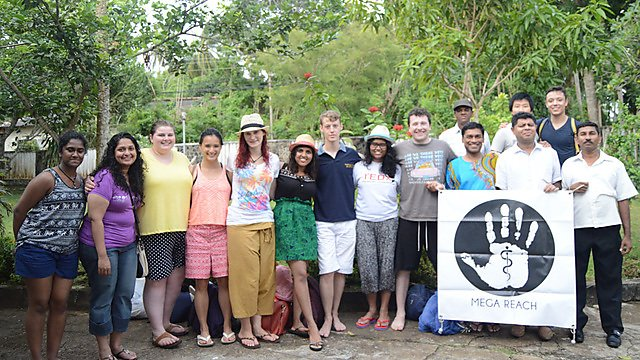 <p>Nine medical students who trained in Plymouth in Sri Lanka, where they completed a bespoke course on parasitology with the second-oldest medical school in South East Asia: The Colombo Medical Faculty<br></p>