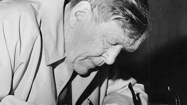 <p>W H Auden</p>