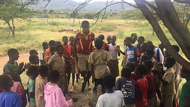 <p>                 Talking with the boys under the shade of the Acacia tree. After telling jokes, laughing and answering questions, we delved into deeper topics, When we spoke about sexual consent, gender violence and female circumcision it was clear the older boys, who had attended previous TeamTalk sessions, showed more understanding of these topics.<br></p>
