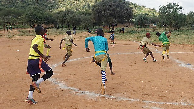 <p>                 <b></b>Lepurua vs Borona tag rugby </p><p>   <br></p>