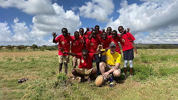 Using tag rugby to address gender inequality in rural Kenya