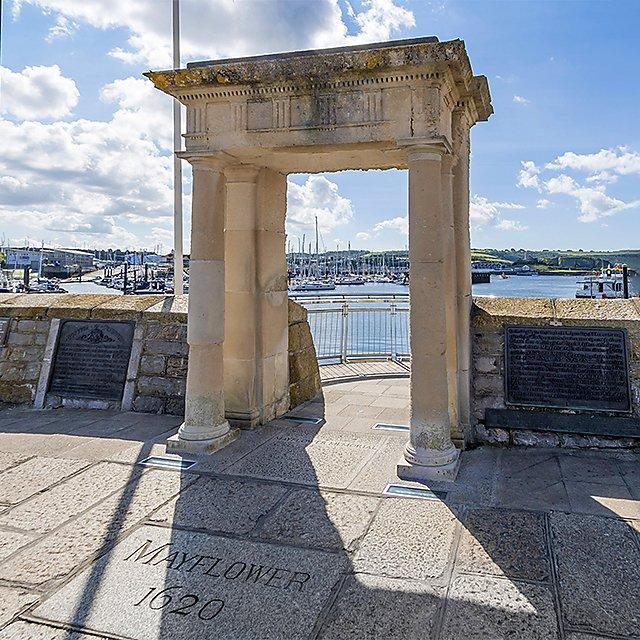 <p>Mayflower steps square - Getty</p>
