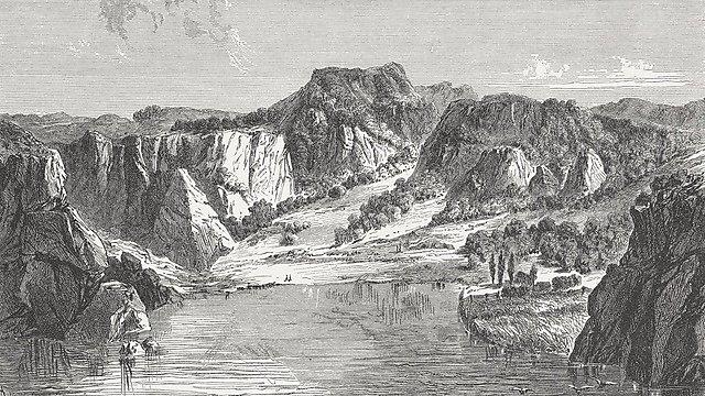 <p>Juan Fernández Islands, wood engraving, published in 1871.<br></p>
