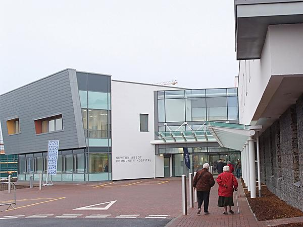 <p>Newton Abbot Community Hospital</p>