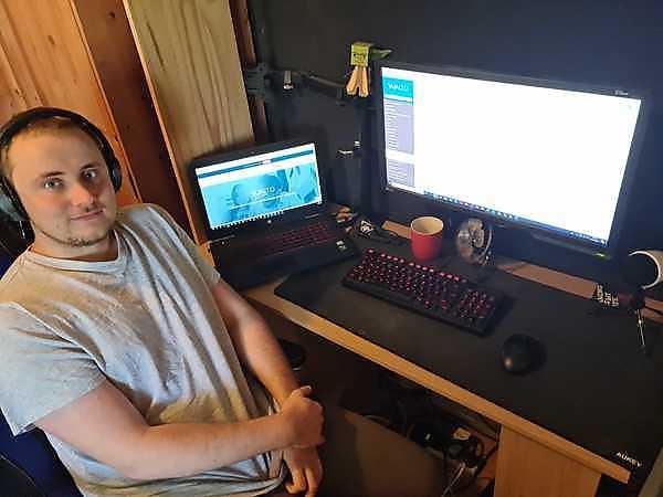 Kristien Oliver-Purdye, Vualto's new Graduate Developer
