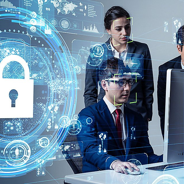 <p>Cyber security concept. Network protection.<br></p>