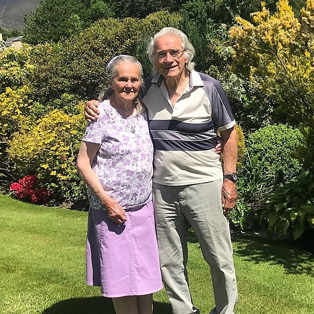 <p>Muriel and Robert Strachan at their home in the Lake District (Credit Strachan Family)<br></p>