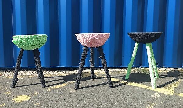 <p>Product design stools</p>