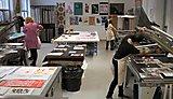 Letterpress, screenprinting, lithography