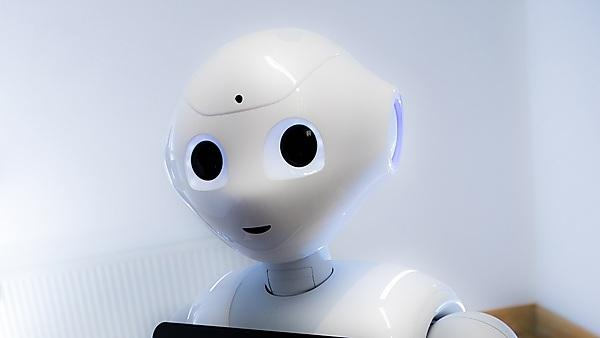 <p>Pepper robot</p>