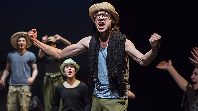 <p><b></b>Acting&nbsp;students performing The Radicalisation of Bradley Manning</p>