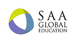 <p>SAA-Global education logo</p>