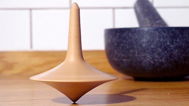 <p>Product and Furnitre Design - spinning top</p>