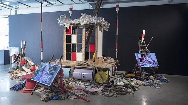 <p>  </p><p><i>Mariner: a painted shop upon a painted ocean, </i>23 September – 16 November 2020, The Levinsky Gallery. Photography: Alan Stewart, University of Plymouth</p><p></p>